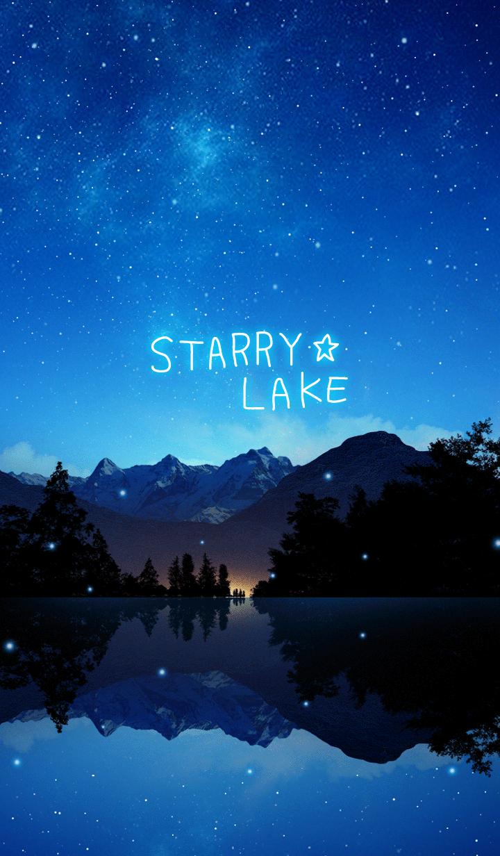 ธีมไลน์ STARRY LAKE