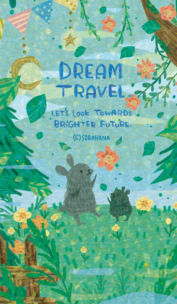 ธีมไลน์ DREAM TRAVEL brighter future