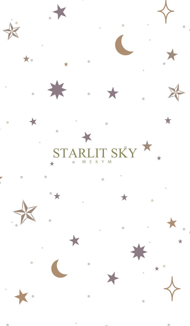 ธีมไลน์ -STARLIT SKY- SIMPLE 26