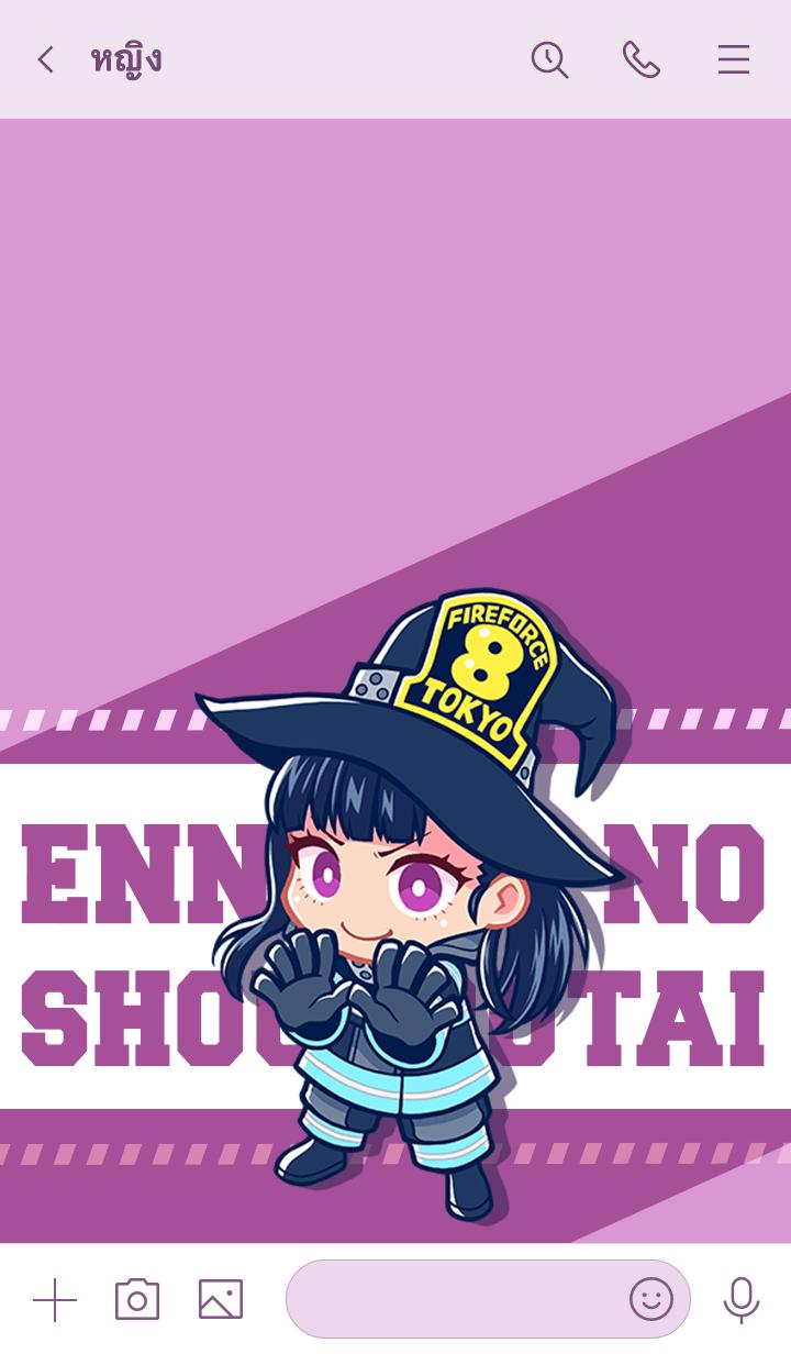 ธีมไลน์ ENN ENN NO SHOUBOUTAI Vol.64