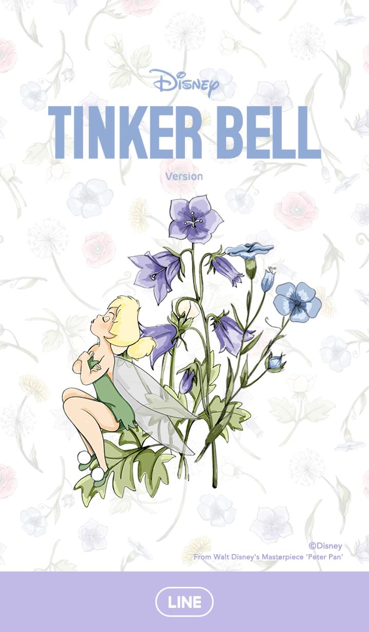 ธีมไลน์ ทิงเกอร์เบลล์ ดอกไม้