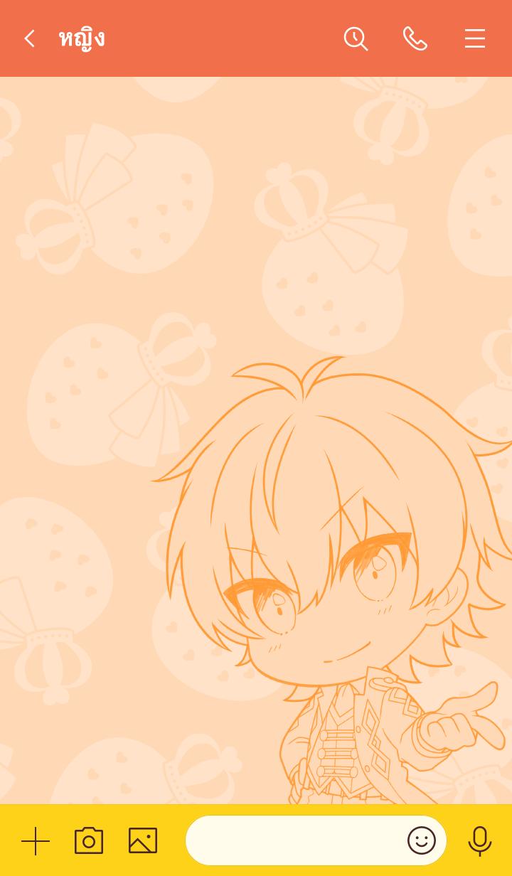 ธีมไลน์ Strawberry Prince(Jel) vol.2