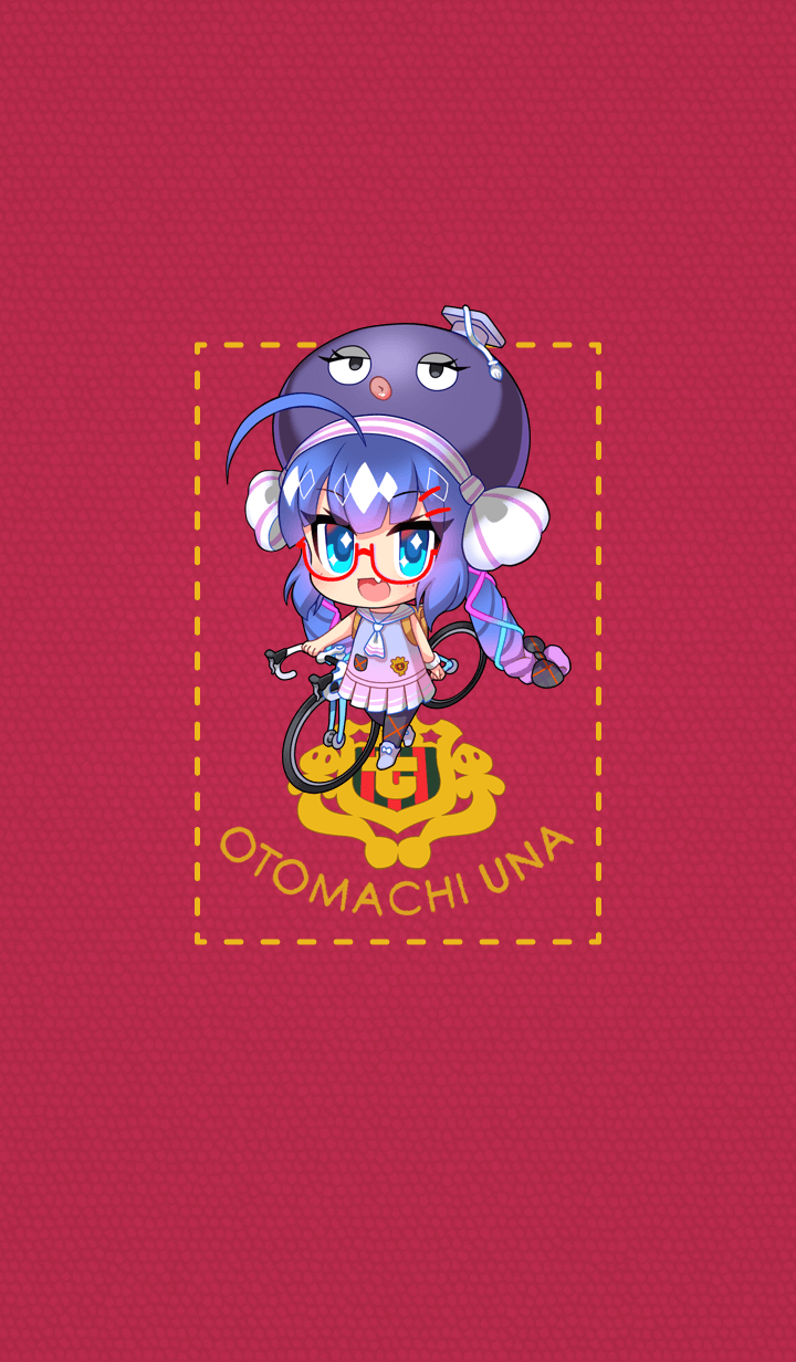 ธีมไลน์ Otomachi Una (TalkEx)