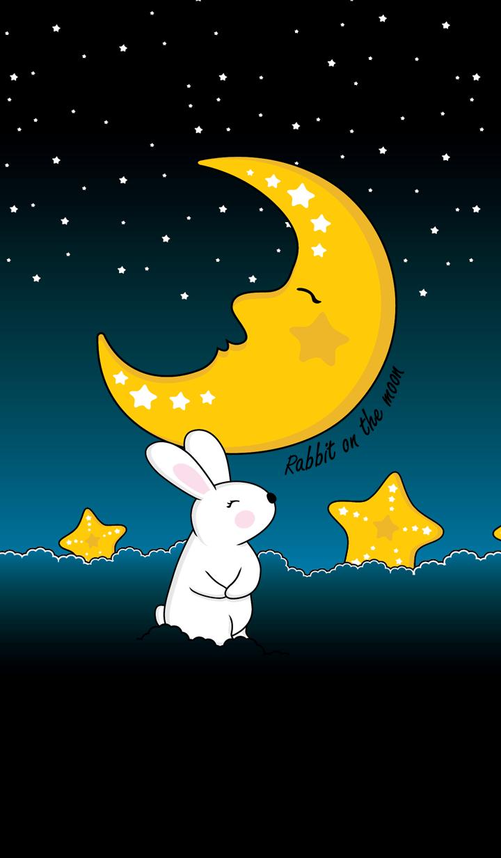 ธีมไลน์ กระต่ายหมายจันทร์
