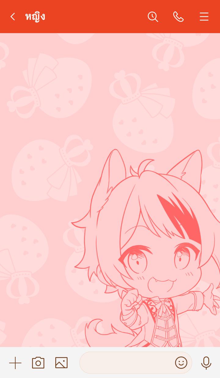 ธีมไลน์ Strawberry Prince(Rinu) vol.2