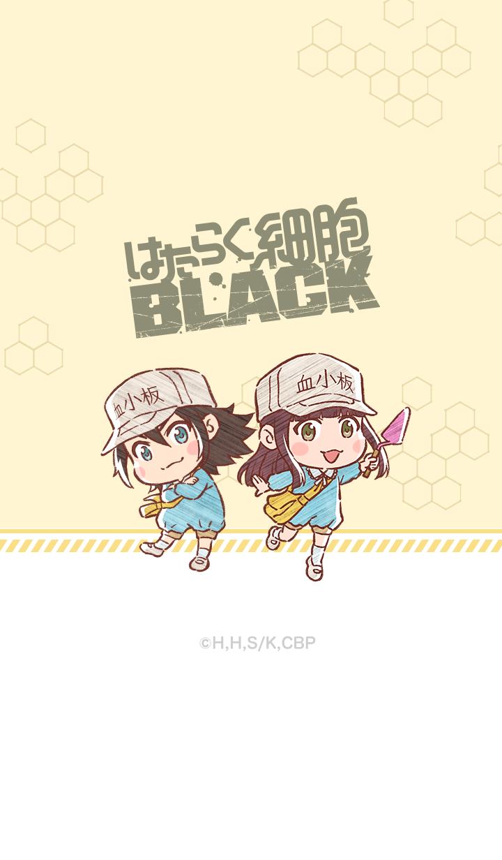 ธีมไลน์ Cells at Work BLACK Vol.8