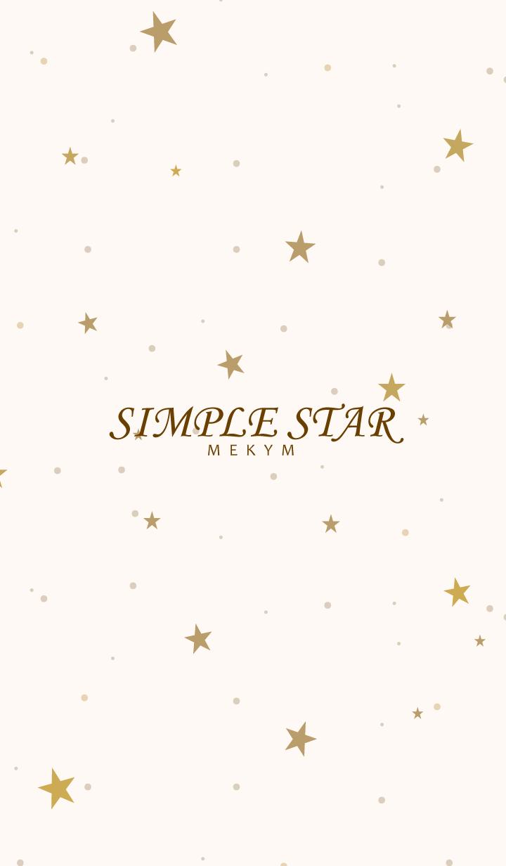 ธีมไลน์ SIMPLE STAR - NATURAL YELLOW - 35