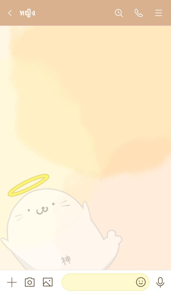 ธีมไลน์ Tomonori Seal god Azarashi