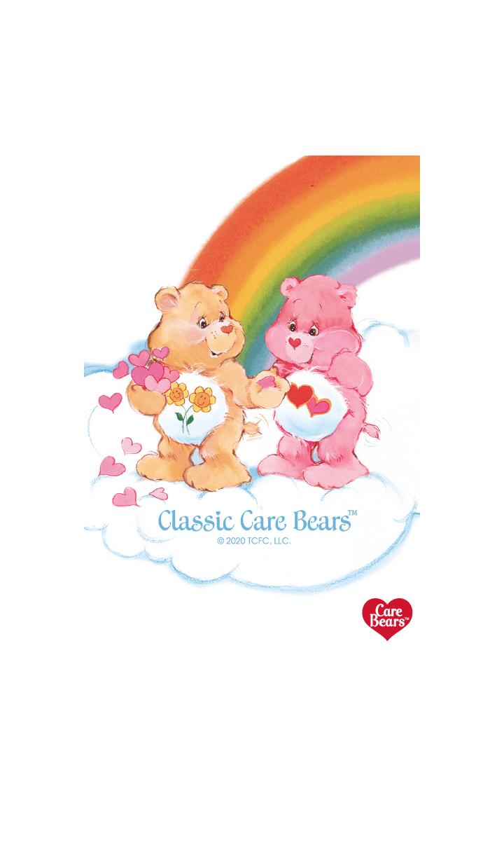 """ธีมไลน์ Care-a-Lot """"Care Bears classic"""" vol.10"""