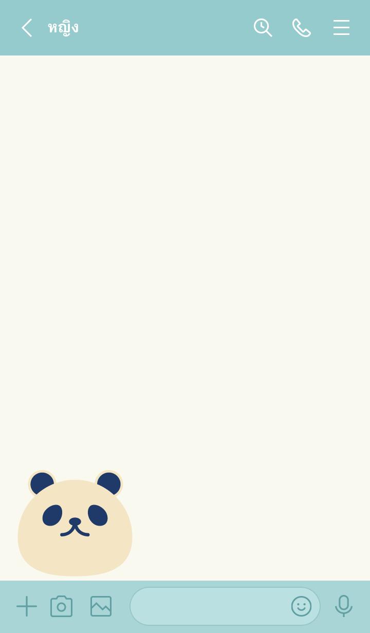 ธีมไลน์ SIMPLE PANDA...7