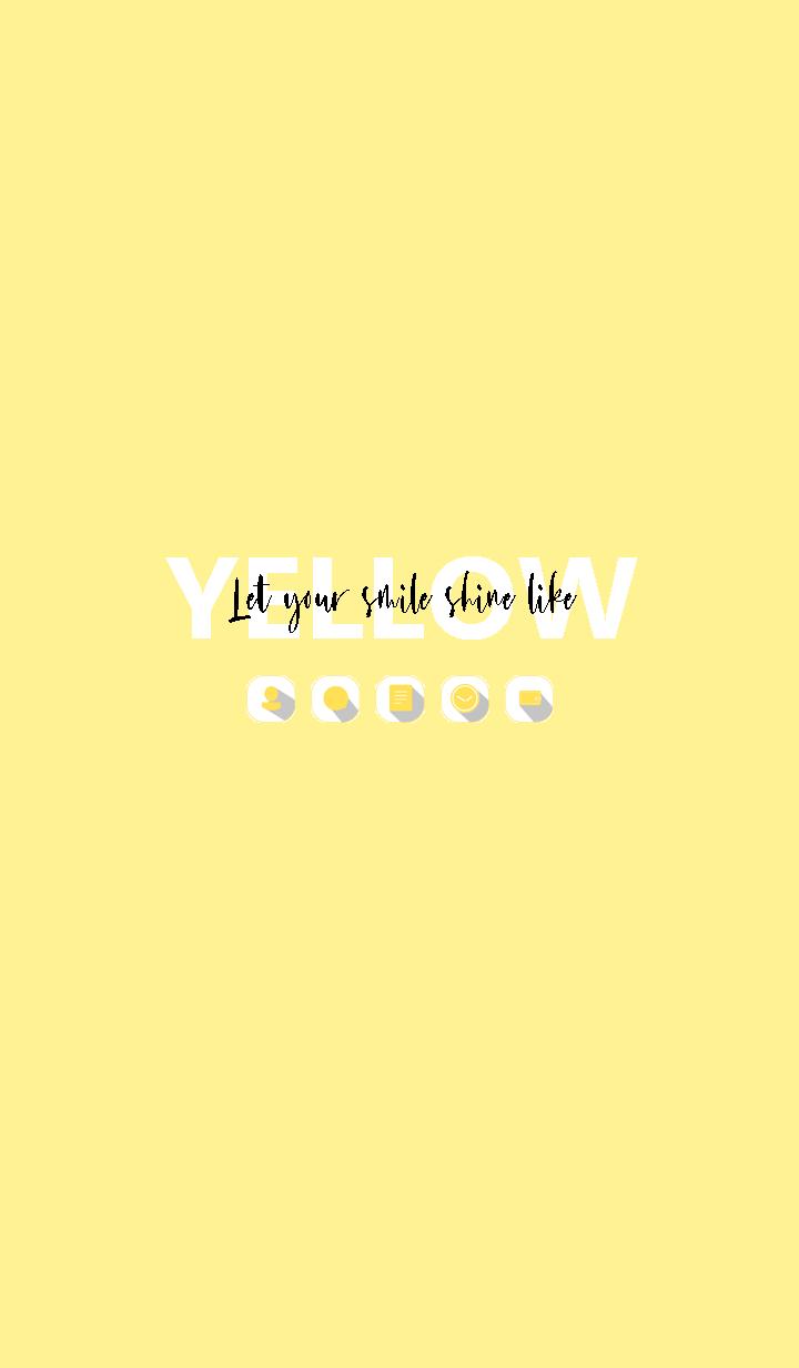 ธีมไลน์ Shine like YELLOW