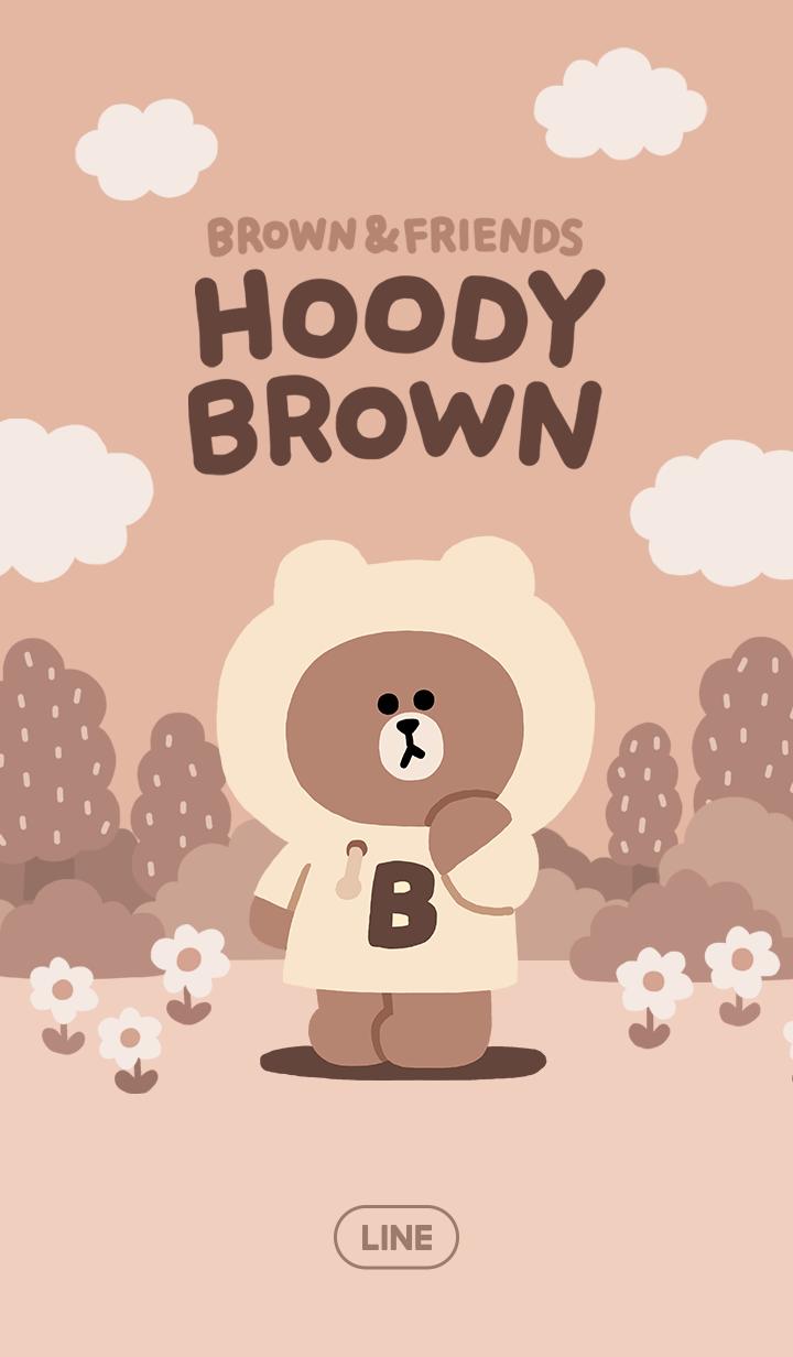 ธีมไลน์ HOODY BROWN