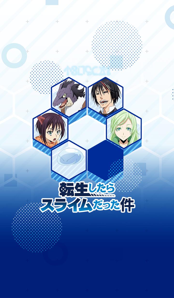 """ธีมไลน์ Theme of """"Tensura Characters ver.2"""""""