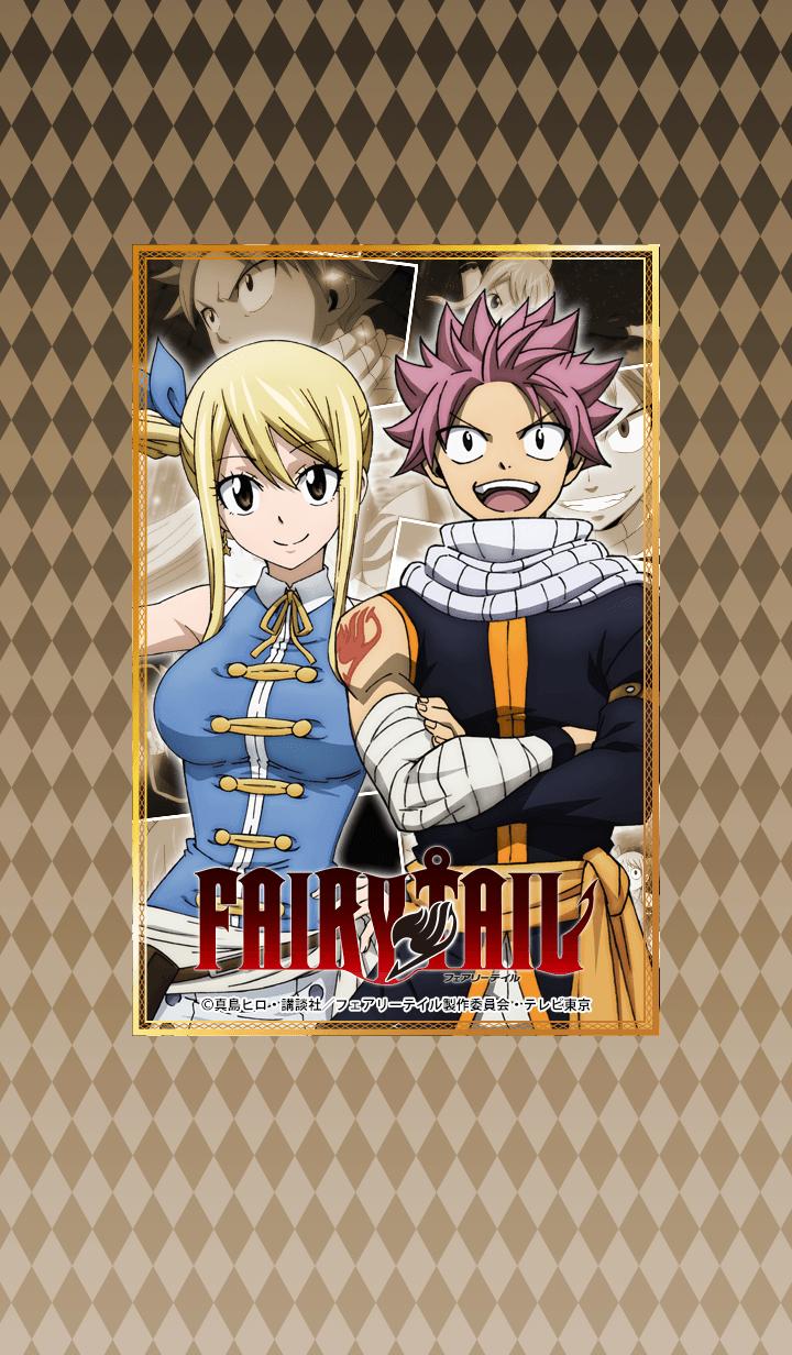 ธีมไลน์ TV Anime FAIRY TAIL Natsu & Lucy