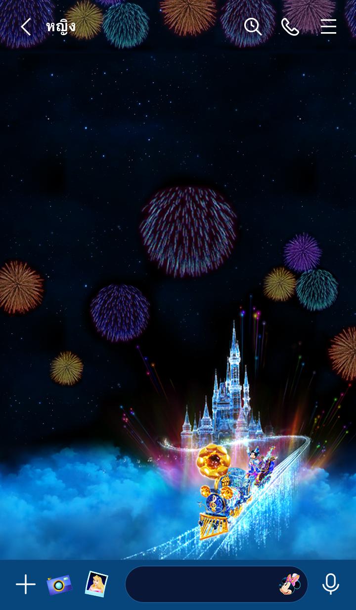 ธีมไลน์ Disney Music Parade