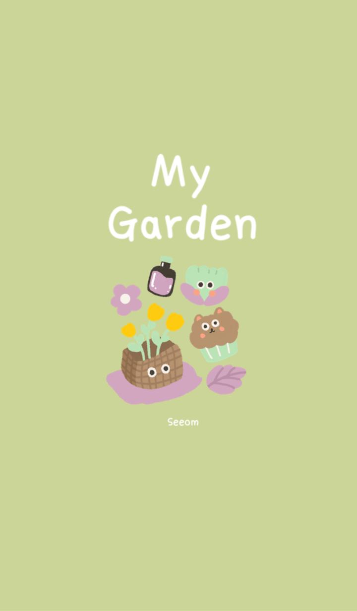 ธีมไลน์ My Garden by seeom