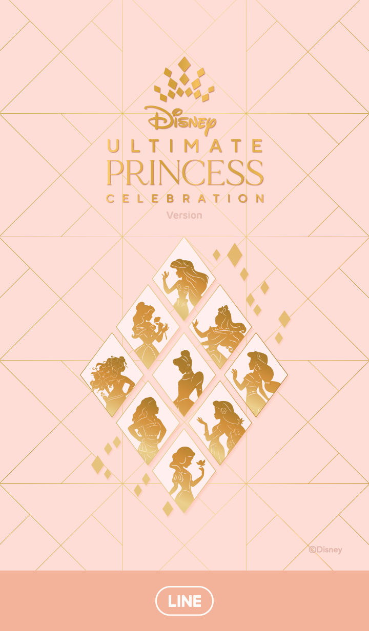 ธีมไลน์ Ultimate Princess Celebration