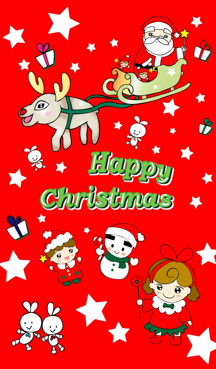 ธีมไลน์ สุขสันต์วันคริสต์มาส สอง