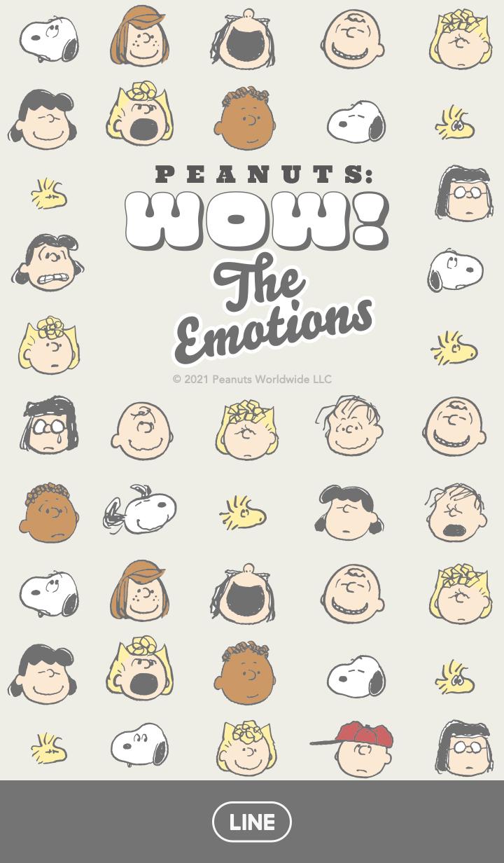 ธีมไลน์ Snoopy: Face