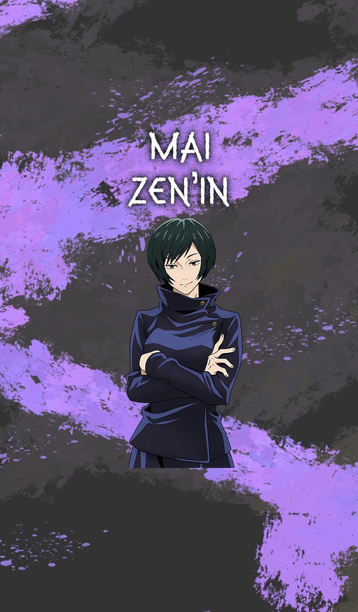 ธีมไลน์ Jujutsu Kaisen Mai Zen'in