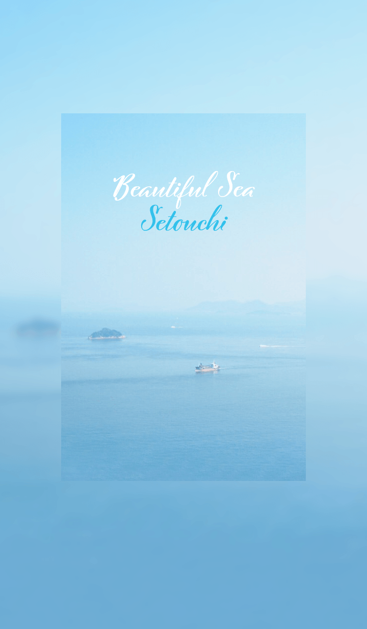 ธีมไลน์ Beautiful Sea : Setouchi