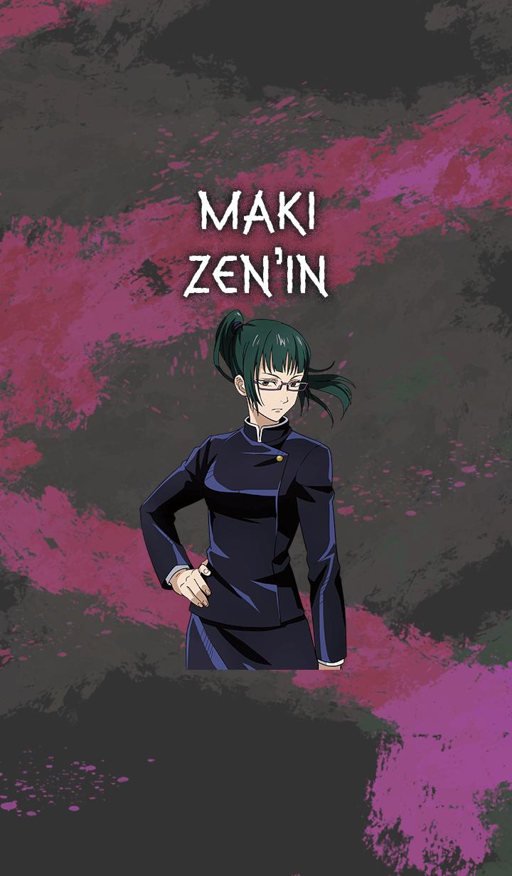 ธีมไลน์ Jujutsu Kaisen Maki Zen'in
