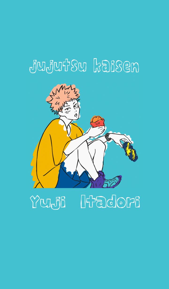 ธีมไลน์ Jujutsu Kaisen ending Yuji Itadori