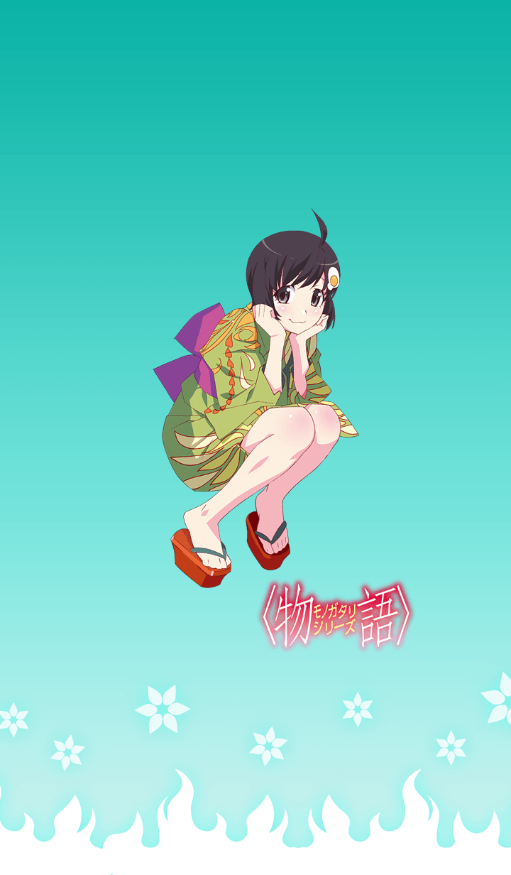 ธีมไลน์ MONOGATARI Series(Araragi Tsukihi)
