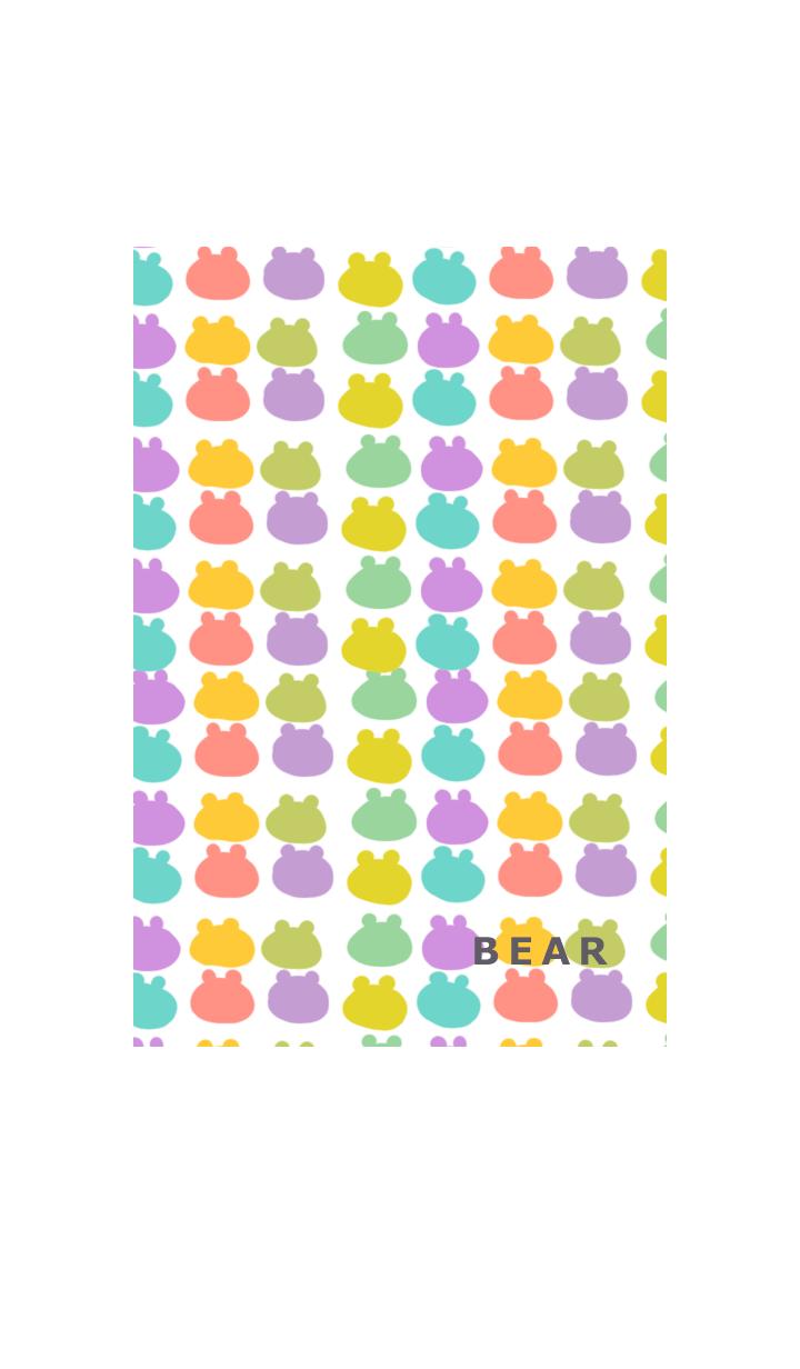 ธีมไลน์ little simple bear