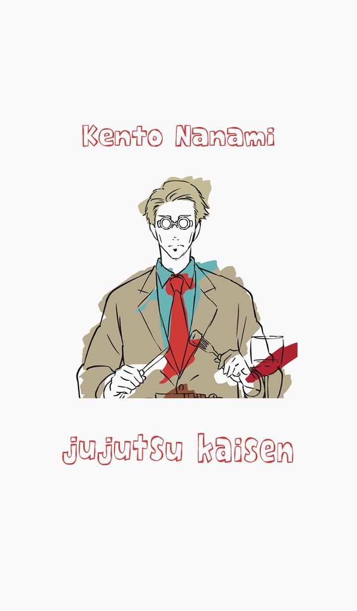 ธีมไลน์ Jujutsu Kaisen ending Kento Nanami
