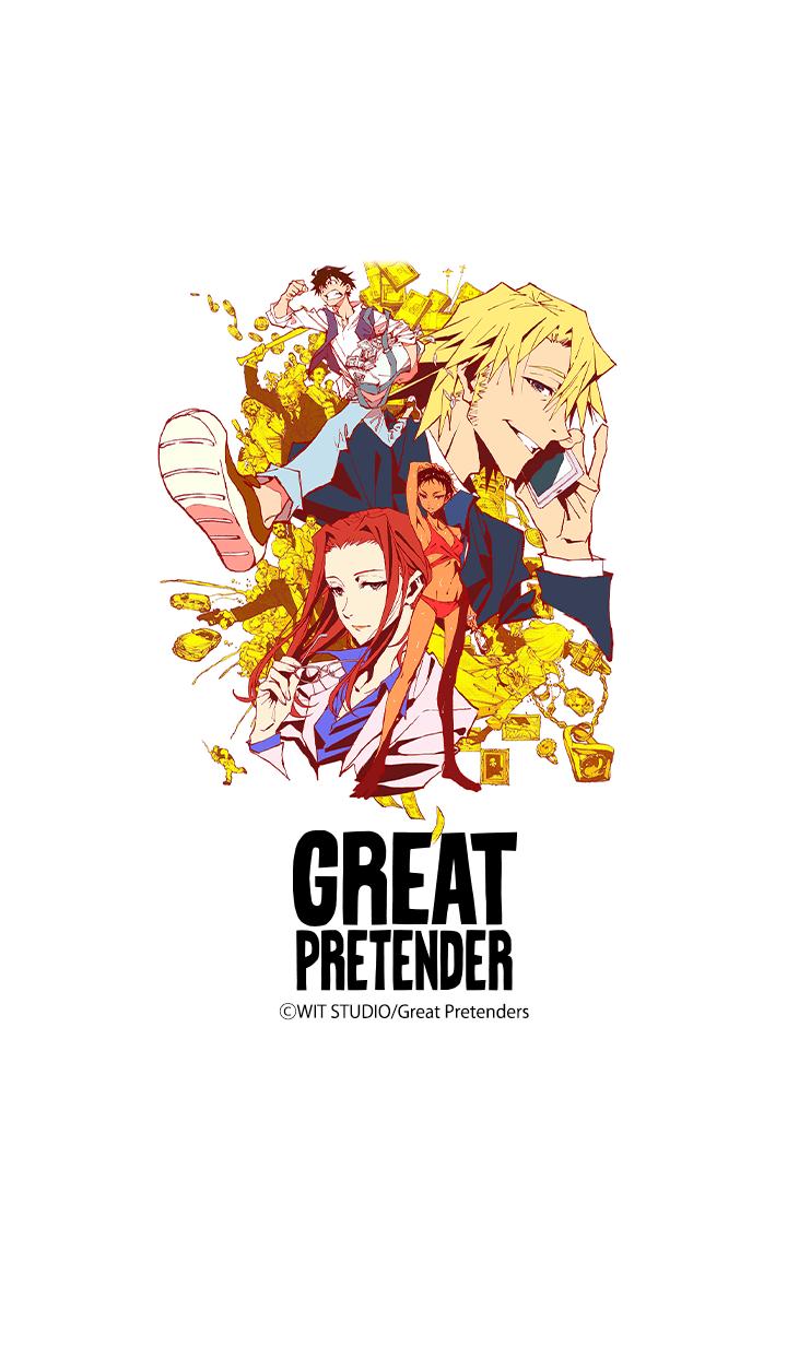 ธีมไลน์ GREAT PRETENDER Vol.1