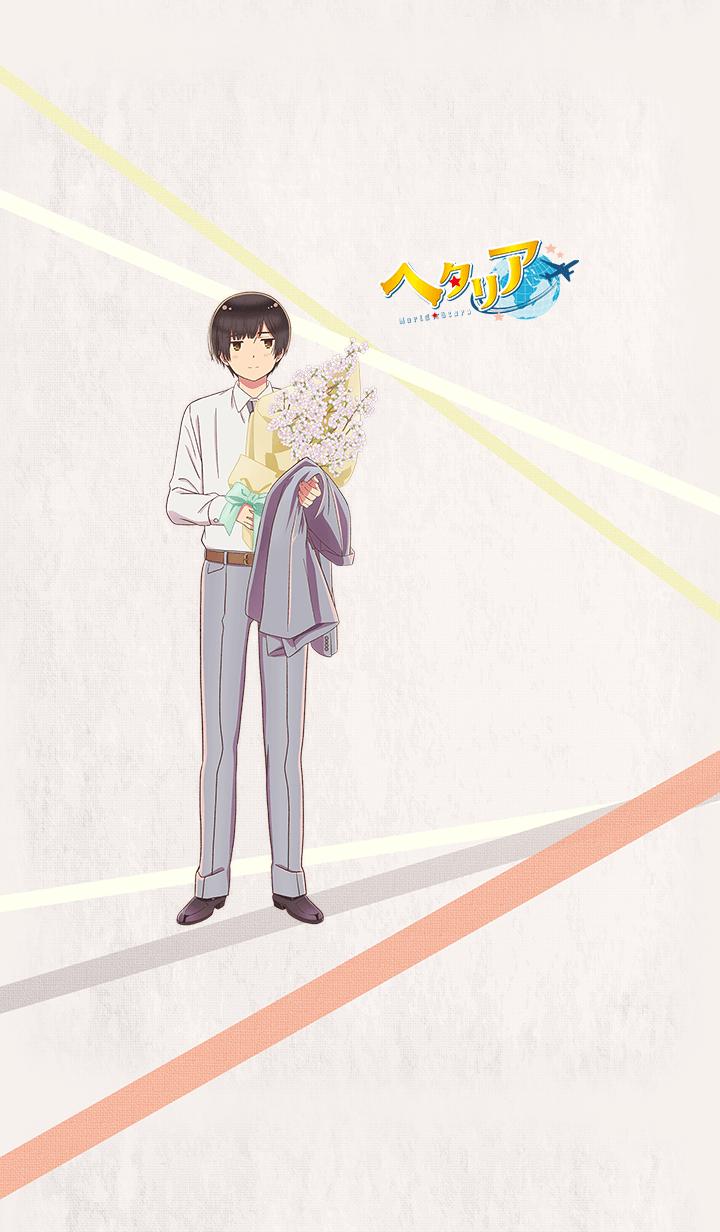 """ธีมไลน์ Animation """"Hetalia World Stars Japan"""""""