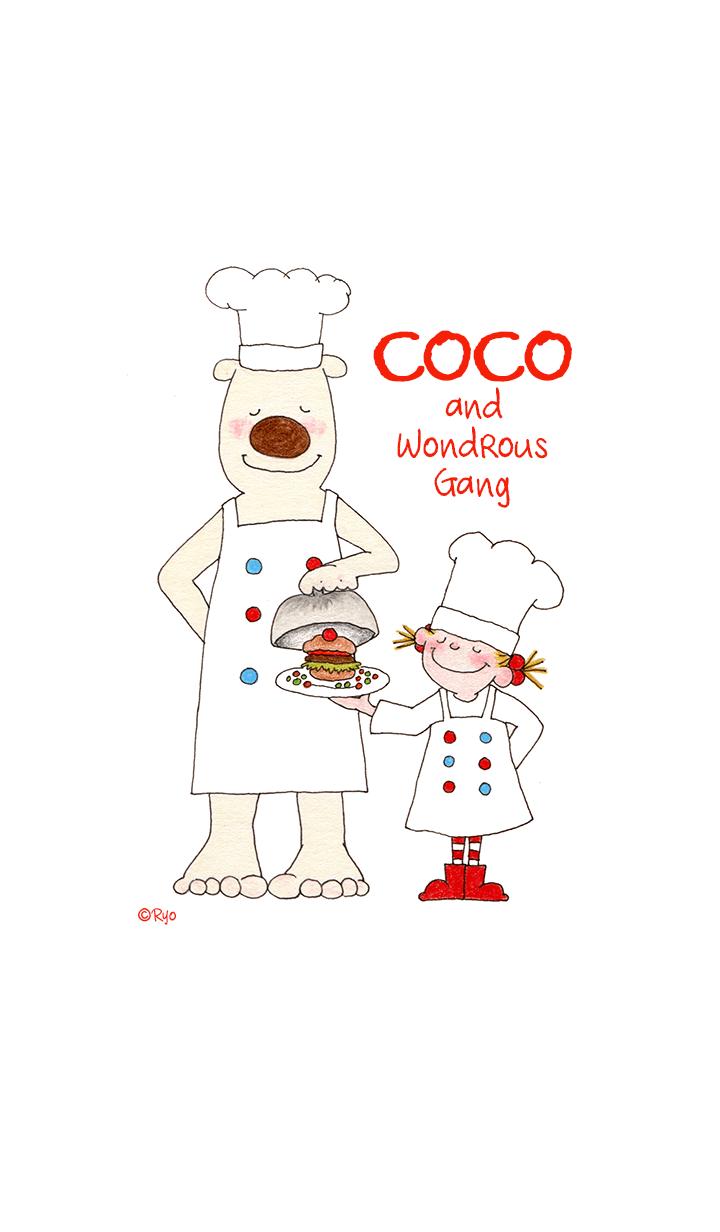 ธีมไลน์ COCO and Wondrous Gang 3
