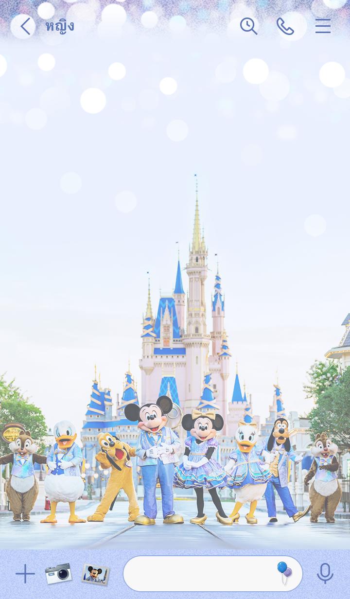 ธีมไลน์ Walt Disney World ฉลองครบรอบ 50 ปี