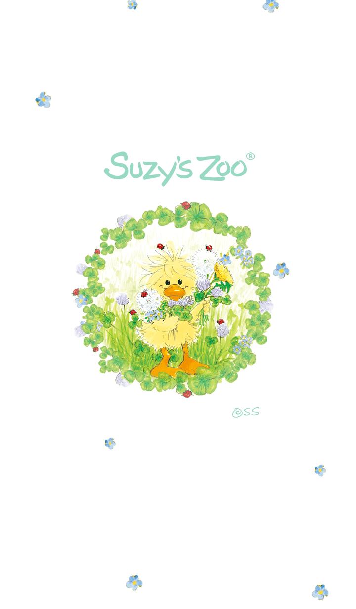 ธีมไลน์ Suzy's Zoo 15 Flower picking