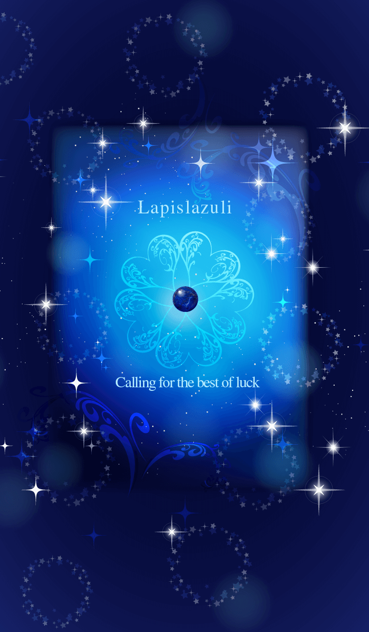 ธีมไลน์ Lapislazuli calling for the best of luck