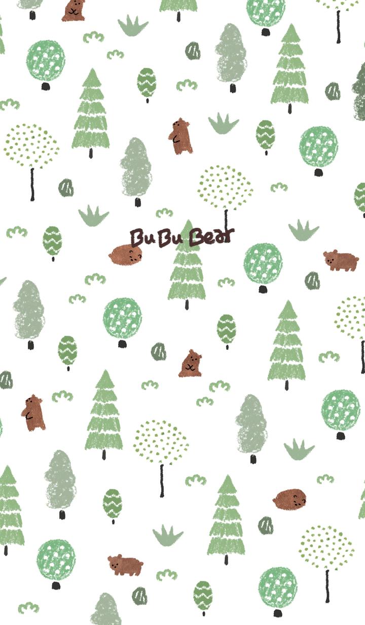 ธีมไลน์ bubu Bear