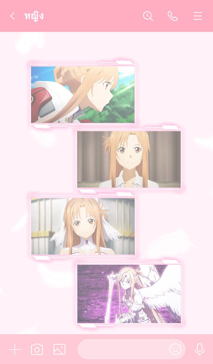 ธีมไลน์ SWORD ART ONLINE ALICIZATION (Asuna)
