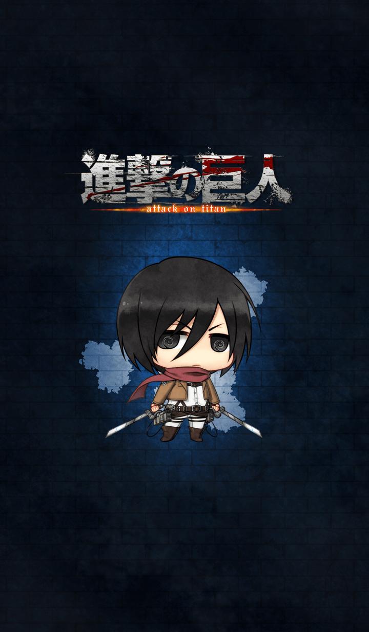 ธีมไลน์ Attack on Titan ~Mikasa~