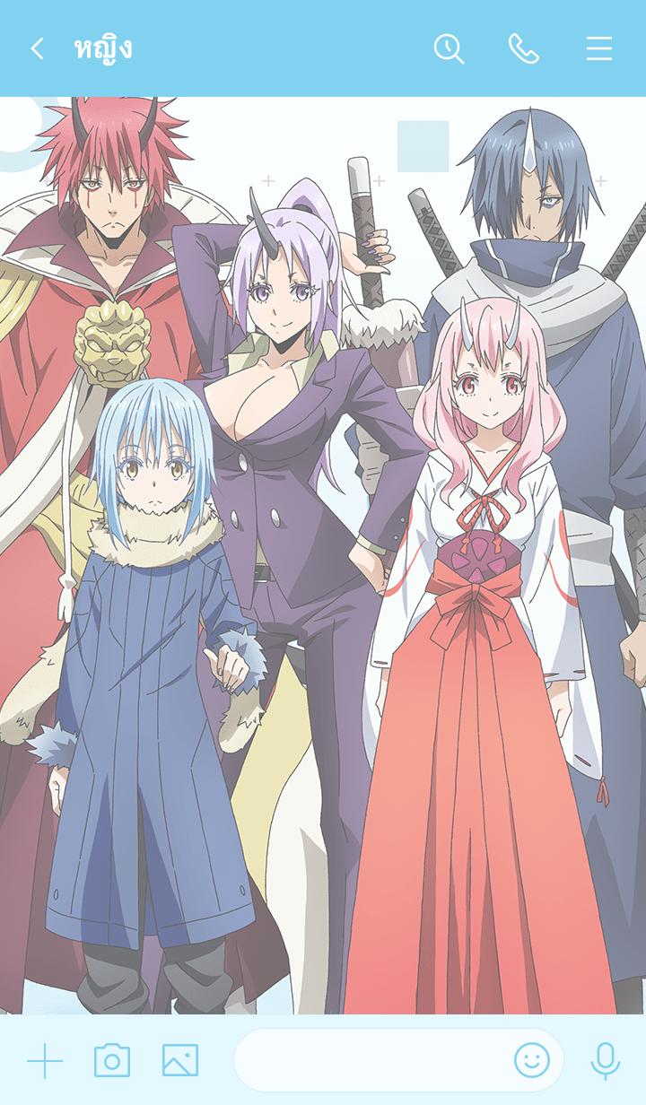 """ธีมไลน์ Theme of """"Tensura Characters ver.1"""""""