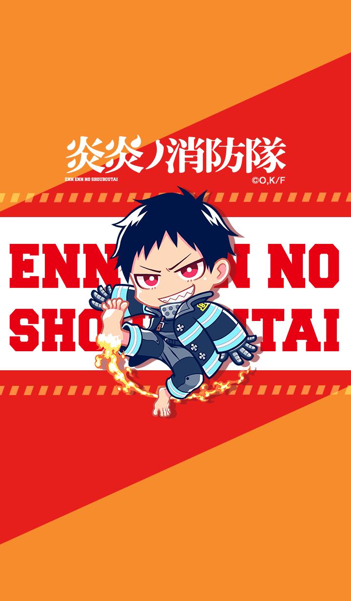 ธีมไลน์ ENN ENN NO SHOUBOUTAI Vol.60