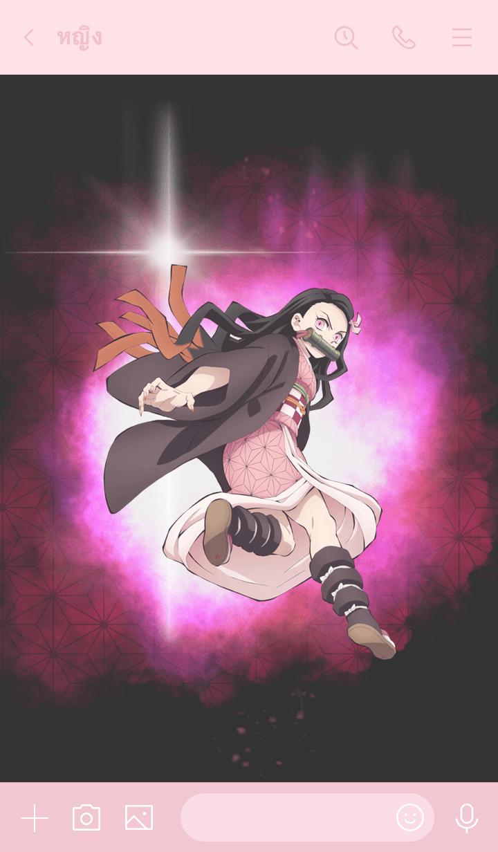 ธีมไลน์ Demon Slayer(MOVIE)(Nezuko ver.)