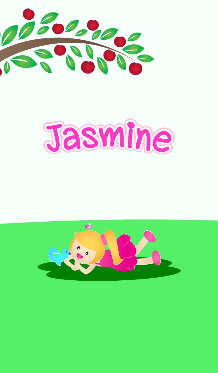 ธีมไลน์ Jasmine