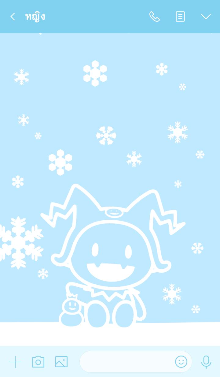 ธีมไลน์ Hee-Ho! Jack Frost