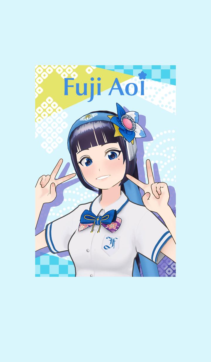 ธีมไลน์ Fuji Aoi