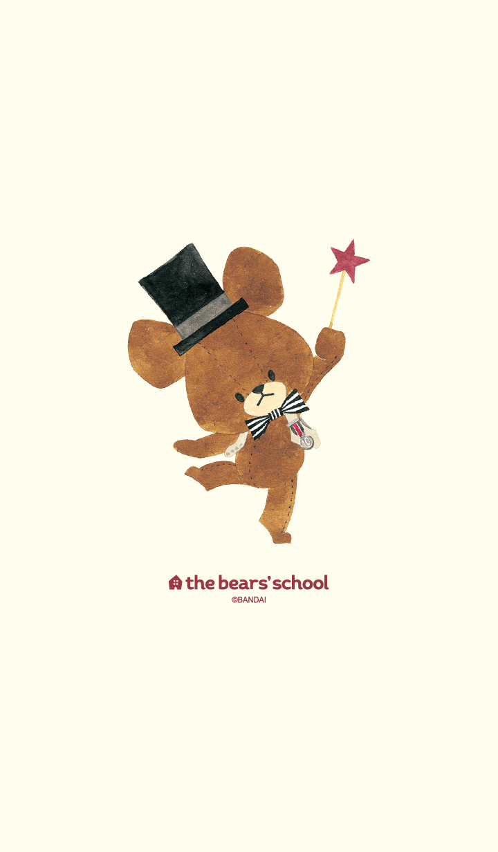 "ธีมไลน์ ""The bear's school"" Jackie's dream"