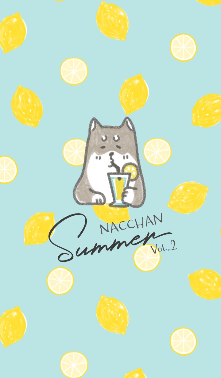 ธีมไลน์ Shiba inu Nacchan Summer - vol.2 -