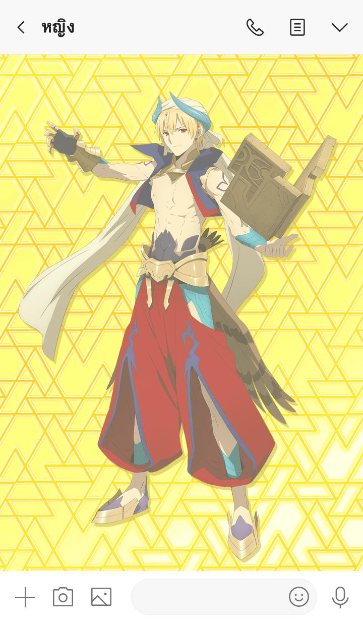 ธีมไลน์ Fate/Grand Order:Babylonia(Gilgamesh)