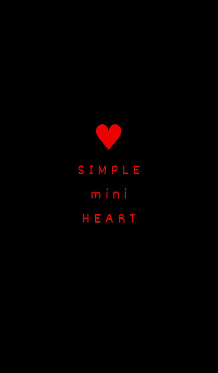 ธีมไลน์ SIMPLE mini HEART 13