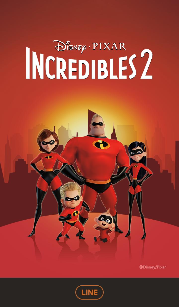 ธีมไลน์ Incredibles 2